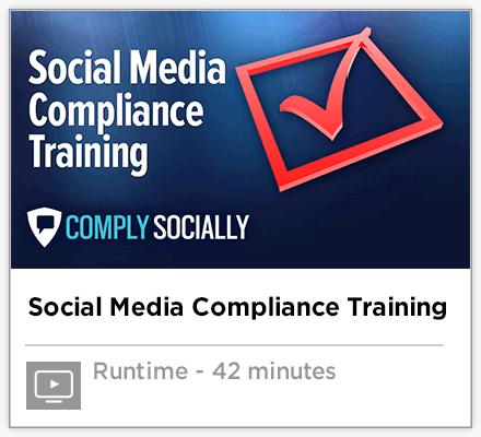 Social Media Compliance Training