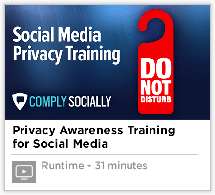 Social Media Privacy Training