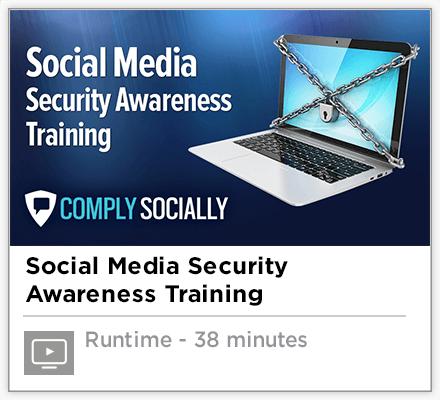 Social Media Security Awareness Training