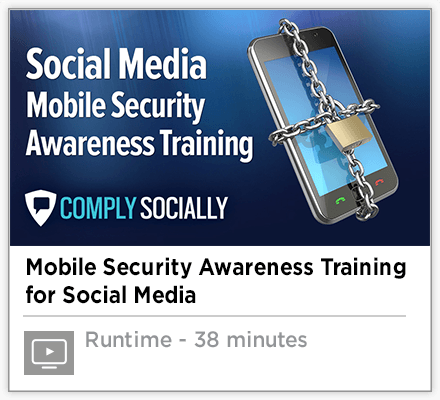 Social Media Mobile Security Awareness Training