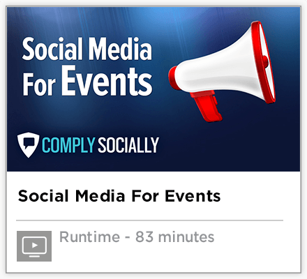 Social Media Training for Special Events