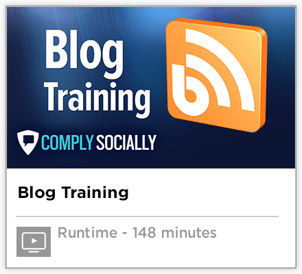 Blog Training