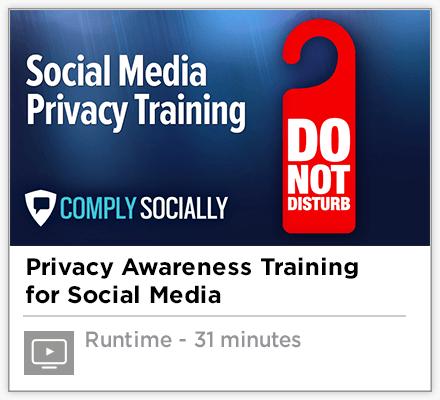Social Media Privacy Training