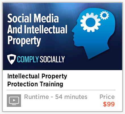 Social Media and Intellectual Property Security Training